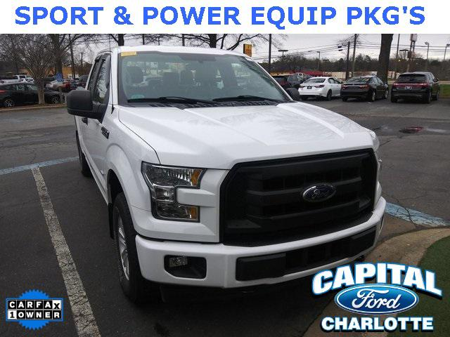 Oxford White 2017 Ford F-150 XL Standard Bed Charlotte NC