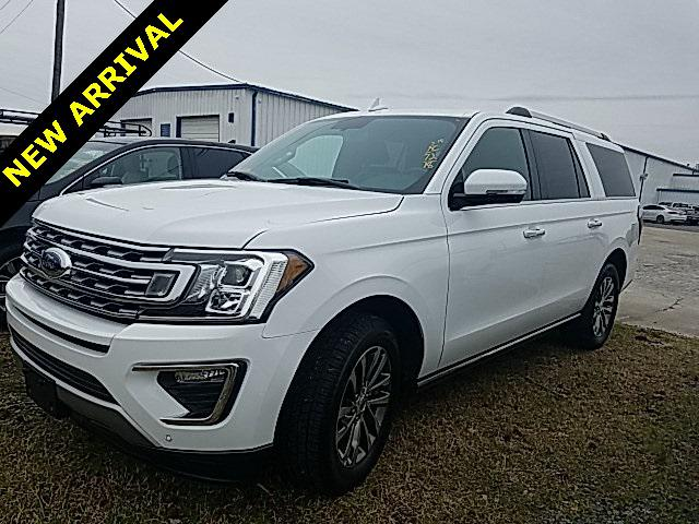 Oxford White 2018 Ford Expedition Max LIMITED 4D Sport Utility Lexington NC