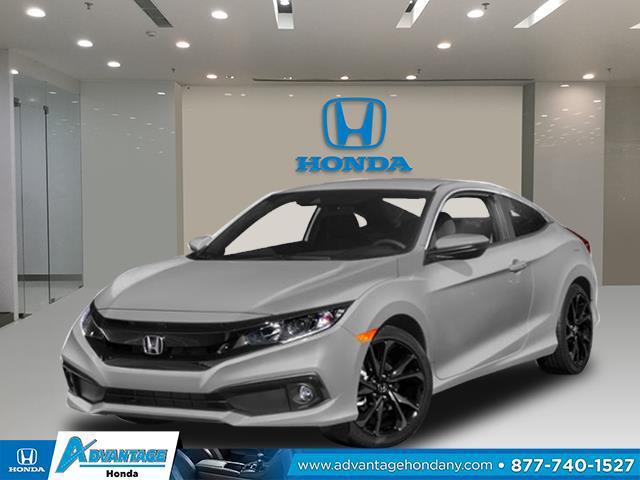 Lunar Silver Metallic 2020 Honda Civic Coupe SPORT 2dr Car Manhasset NY