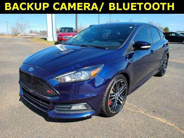 Blue Candy Metallic Tinted Clearcoat 2016 Ford Focus ST 4D Hatchback Lexington NC