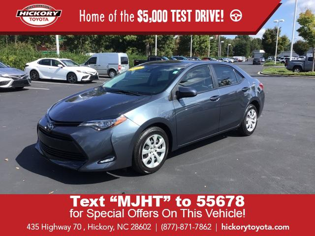 2018 Toyota Corolla LE for sale in Hickory, NC