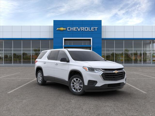Summit White 2020 Chevrolet Traverse LS SUV Huntington NY