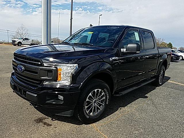 Agate Black Metallic 2020 Ford F-150 XLT 4D SuperCrew Lexington NC