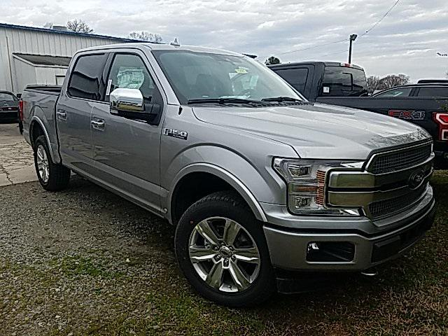 Iconic Silver Metallic 2020 Ford F-150 PLATINUM 4D SuperCrew Lexington NC