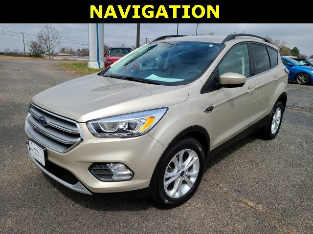 White 2017 Ford Escape SE 4D Sport Utility Lexington NC