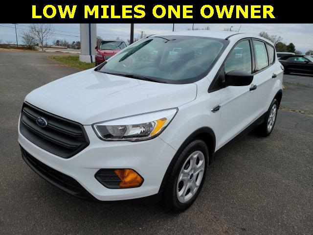 Oxford White 2017 Ford Escape S 4D Sport Utility Lexington NC