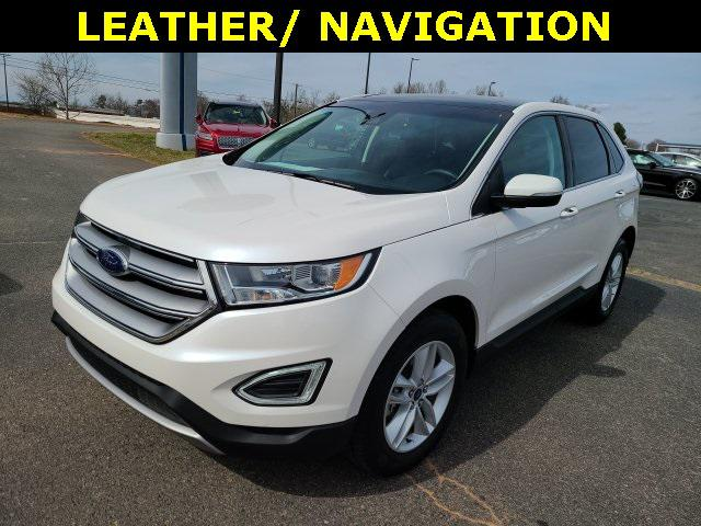 White 2018 Ford Edge SEL 4D Sport Utility Lexington NC