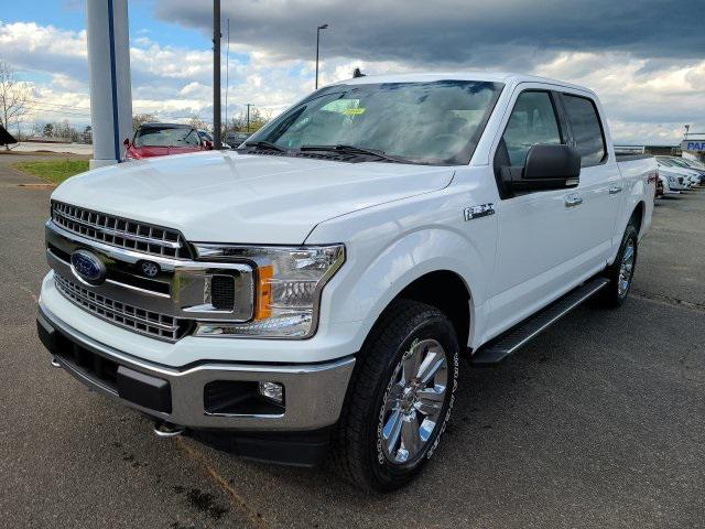 Oxford White 2020 Ford F-150 XLT 4D SuperCrew Lexington NC