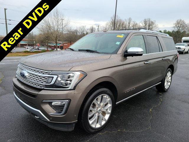 Stone Gray Metallic 2019 Ford Expedition Max PLATINUM 4D Sport Utility Lexington NC