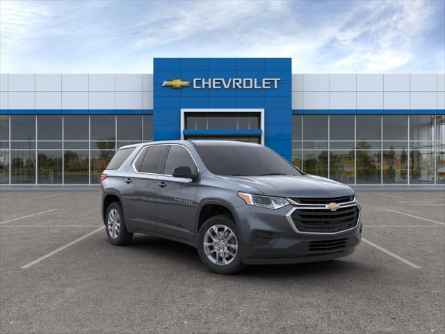 Steel Metallic 2020 Chevrolet Traverse LS SUV Huntington NY