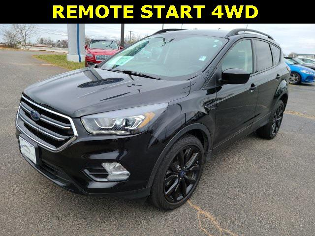 Agate Black Metallic 2019 Ford Escape SE 4D Sport Utility Lexington NC
