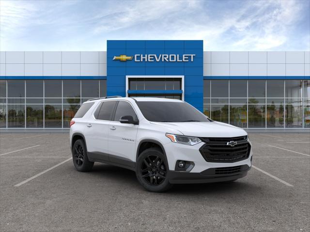 Summit White 2020 Chevrolet Traverse LT LEATHER SUV Huntington NY