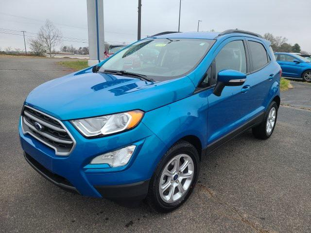 Blue Candy Metallic Tinted Clearcoat 2020 Ford EcoSport SE 4D Sport Utility Lexington NC