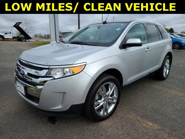 Ingot Silver Metallic 2013 Ford Edge SEL 4D Sport Utility Lexington NC