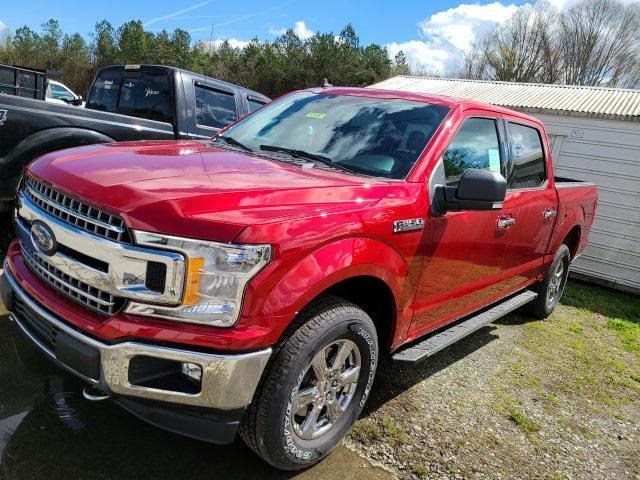 Rapid Red Metallic Tinted Clearcoat 2020 Ford F-150 XLT 4D SuperCrew Lexington NC