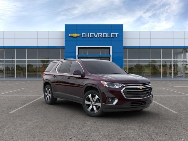 Black Cherry Metallic 2020 Chevrolet Traverse LT LEATHER SUV Huntington NY