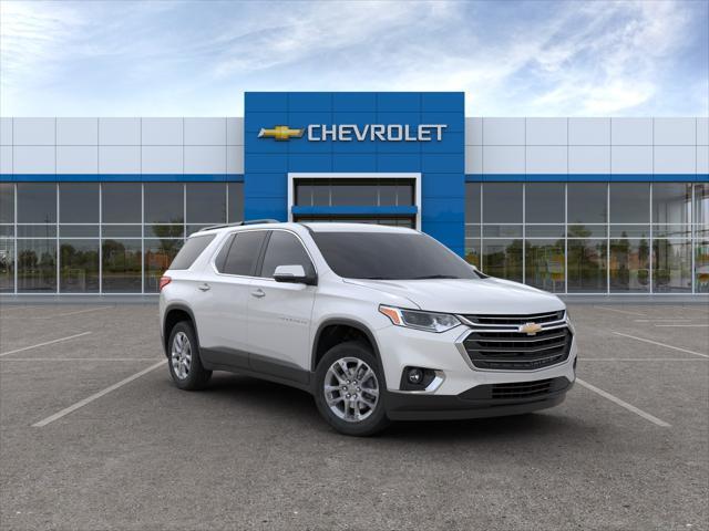 Pearl 2020 Chevrolet Traverse LT LEATHER SUV Huntington NY