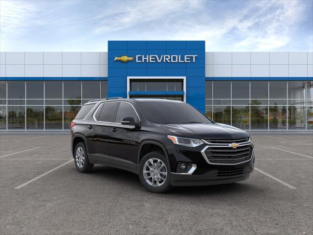 Black Metallic 2020 Chevrolet Traverse LT CLOTH SUV Huntington NY