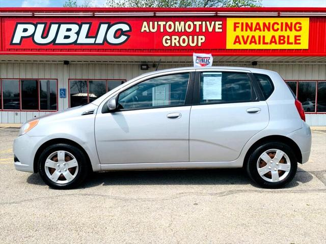 used vehicle - Hatchback Chevrolet Aveo5 2010