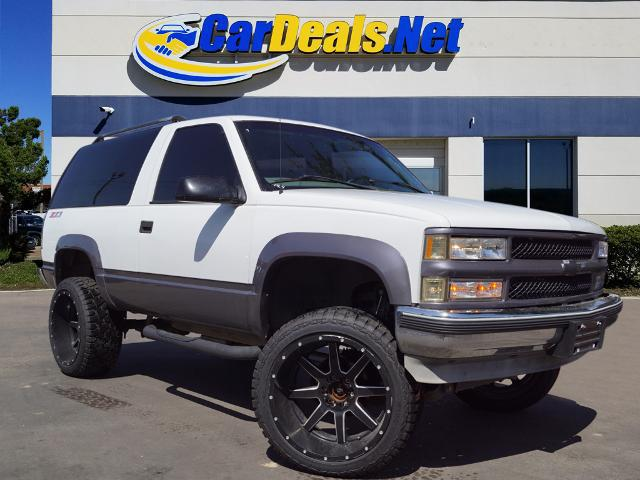 Used CHEVROLET TAHOE 1999 CARDEALS.NET PLANO
