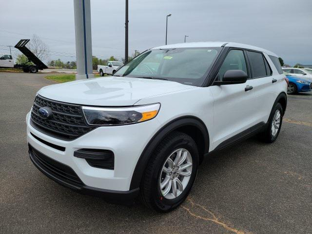 Oxford White 2020 Ford Explorer BASE 4D Sport Utility Lexington NC