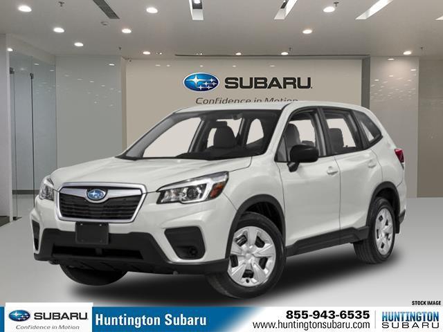 Crystal White Pearl 2020 Subaru Forester CVT SUV Huntington NY