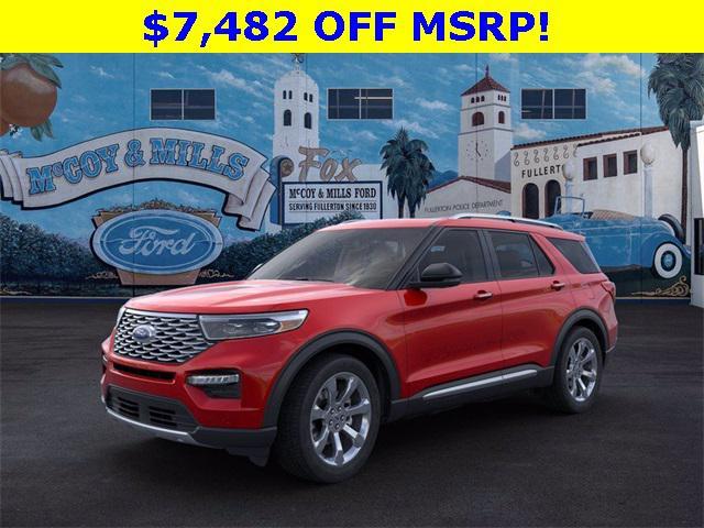 2020 Ford Explorer Platinum for sale in Fullerton, CA