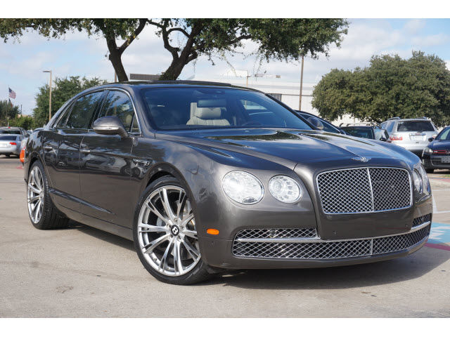 Used BENTLEY FLYING-SPUR 2014 CARDEALS.NET PLANO