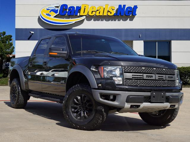 Used FORD F150 2012 CARDEALS.NET PLANO RAPTOR SVT