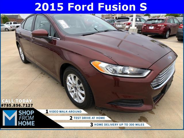 2015 Ford Fusion S for sale in Lawrence, KS