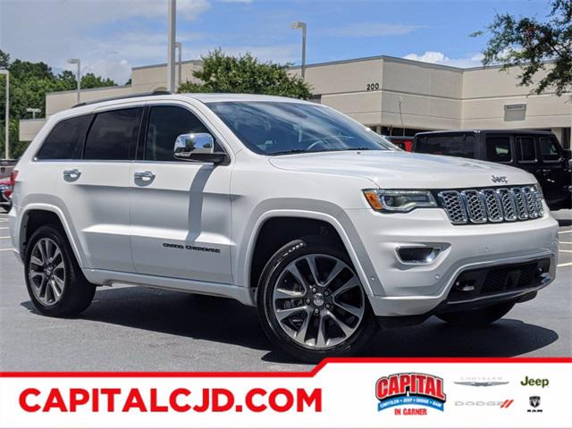 2017 Jeep Grand Cherokee OVERLAND SUV Slide