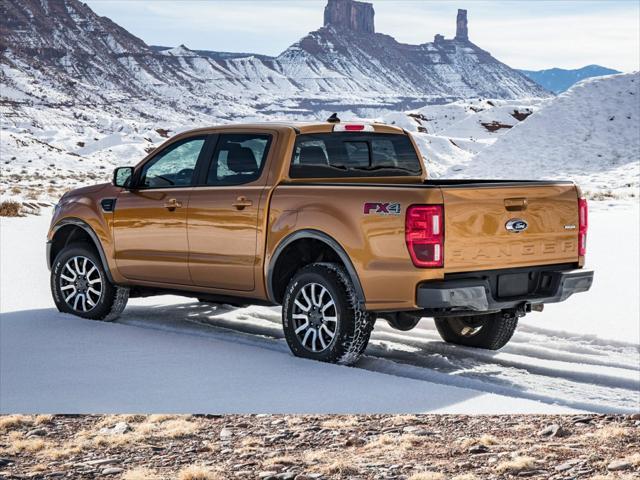 2019 Ford Ranger LARIAT Short Bed Slide