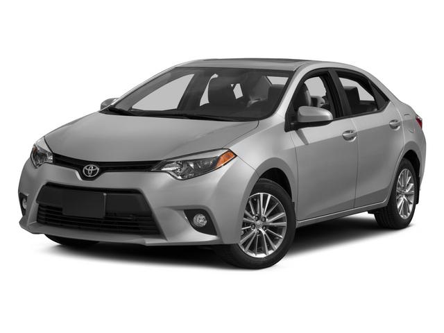2015 Toyota Corolla LE 4dr Car