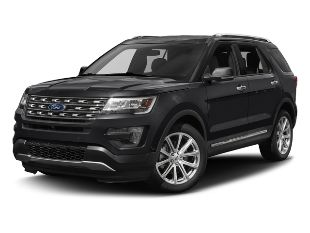 certified 2017 Ford Explorer Limited