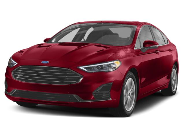 certified 2019 Ford Fusion SE