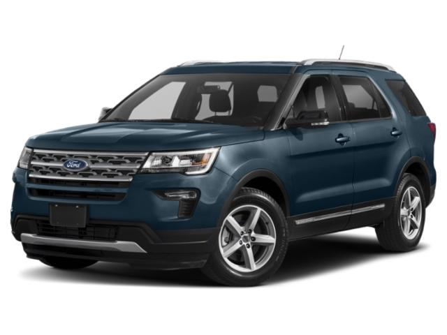 Blue Metallic 2019 Ford Explorer SPORT SUV Hillsborough NC