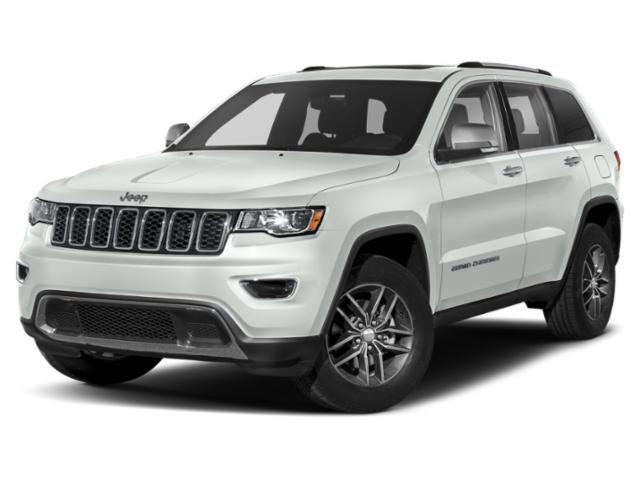 Bright White Clearcoat 2020 Jeep Grand Cherokee LIMITED SUV Garner NC