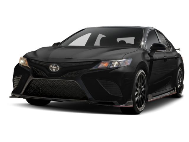 Midnight Black Metallic 2020 Toyota Camry TRD V6 4dr Car Huntington NY