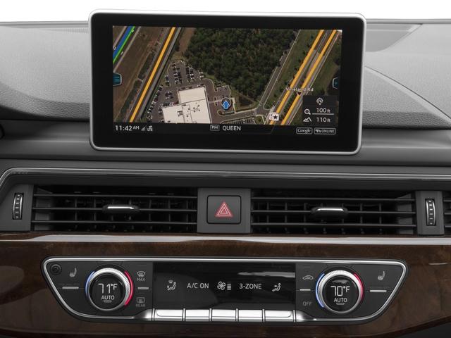 Black 2017 Audi A4 PREMIUM 4dr Car Huntington NY
